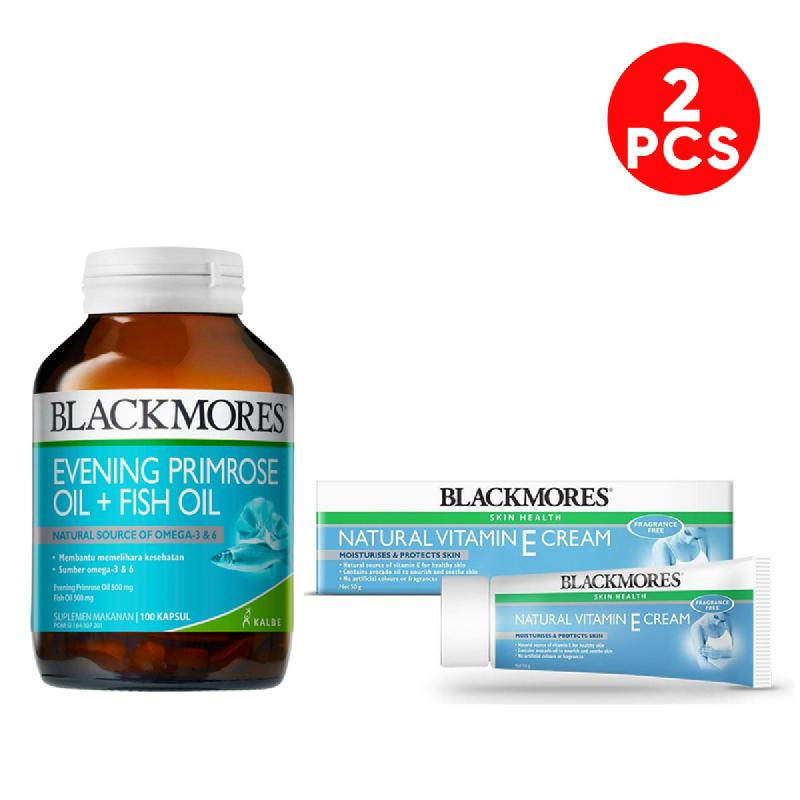 Blackmores Evening Primrose Oil Fish Oil 100 Vitamin E Cream Multivitamin 50 G Istyle